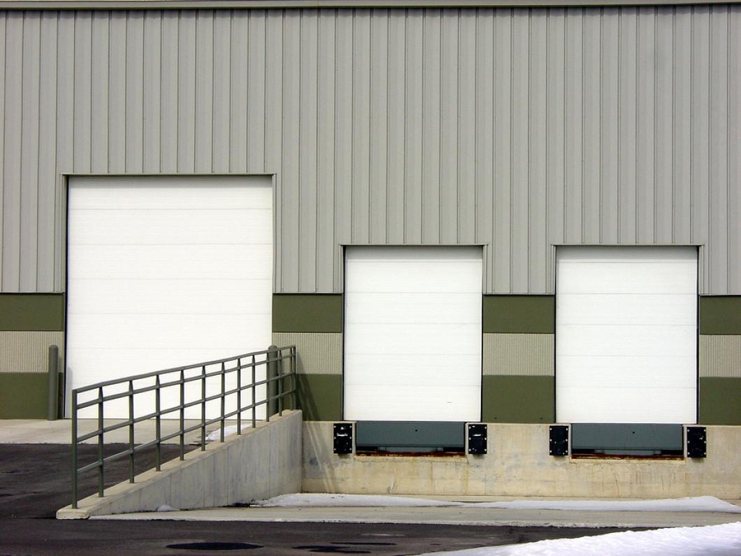 Industrial Garage Rolling Sectional Security Dock Doors